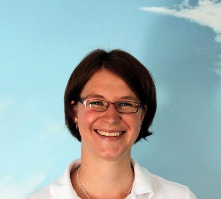 Verwaltungsmitarbeiterin Carolin Fleischmann