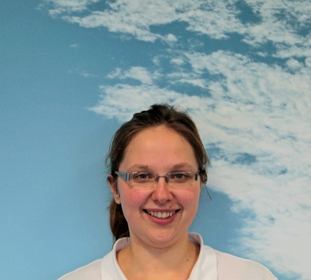Physiotherapeutin Daniela Hemmer