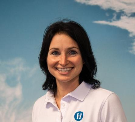 Anmelde- und Verwaltungsangestellte Ilona Steinmetz